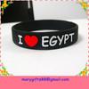 cheap wholesale personalized silicone bracelet