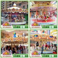 CE/SONCAP Certificate Carousel Ride!new children park item deluxe ride carousel,new children park item deluxe ride carousel
