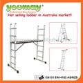 Como/nzs 1892.1: 1996 aprovado scaffold suporte escada/plataforma escada/uma escada, am0406a
