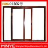 China factory high quality sliding door with double glazed/large aluminum sliding door exterior/big glass aluminum sliding door