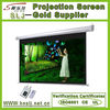 HD 3D Home Cinema Motorized Projector Screen/Electric Projection Screen With RF Remote Control