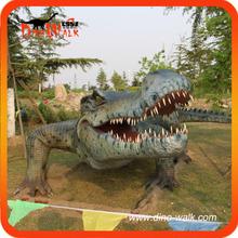 Moving smooth animatronic animal crocodile facility