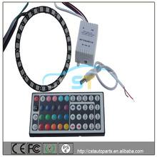remote control Epistar 5050 24 SMD RGB 90mm angel eyes halo rings