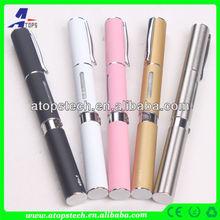 Atops colorful ego w stylus pen like e-cigarette