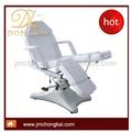 Ck 8203 blanco cosmético hidráulica silla de masaje