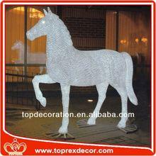 Indoor acrylic horse head