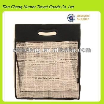 PVC foldable shopping bag