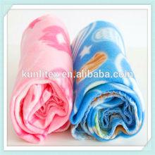 Cheap wholesale china polyester super soft polar fleece baby blanket
