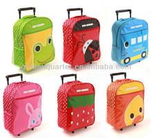 Colorful Animal Trolley school bags