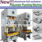 Full Automatic Aluminum Foil Food Container Making Machine