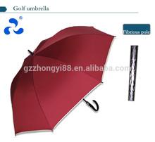 Straight tiny POLYESTER PONGEE dark advertisemen umbrella golf gift