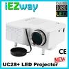 pocket mini projector HDMI mini projector UC28+ Support HDMI Cheapest 1080p LED pico projector