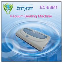 2014 household mini sealing packing machine mini vacuum food sealer EC-ESM1
