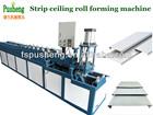 Automatic metal strip ceiling making machine