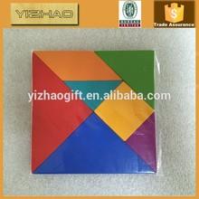 Wooden toy tangram,wooden puzzle toys,wooden tangramYZ-1205006