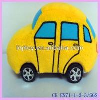 High quality plush kids car toys
