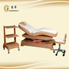 4 motor wooden wood frame water massage bed CE