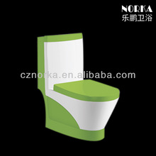 Favorites Compare Ceramic Sanitary Ware One Piece Green Color Toilet