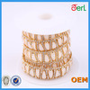 high quality Bling bling asfour crystal rhinestones banding wholesale