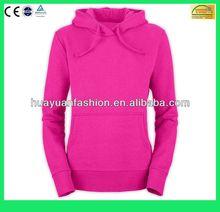promotional Women's 100% Cotton plain Pullover Hooded Sweatshirt/sweatshirt hoodies(6 Years Alibaba Experience)