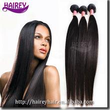 Garantee quality silky straight cheap brazilian human hair virgin relaxed hair