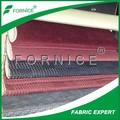 100% polyester möbelstoff autositz mit 3mm schaumstoff