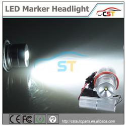 Top quality CST 10W 7000K led marker headlight E39 angel eye