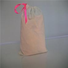 nepal cotton bags wholesale/organic cotton drawstring bags/cotton canvas bag