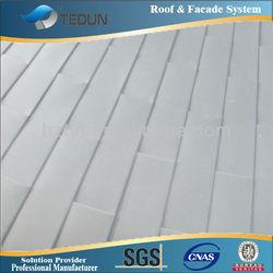Rectangular shaped Aluminium Shingles Roof