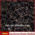 brown pedra de mármore da telha ea laje preço