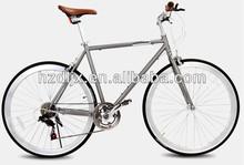 700C fashionable retro aluminum road bike from factory