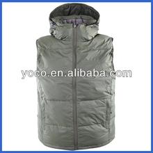 Winter nylon waterproof vest men