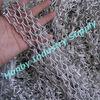 Honby custom made hard anodized aluminum chain link curtain