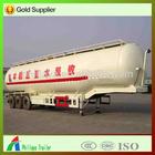 50m3 3 AXLE truck cement tank semi trailer for sale ( volume optional ) / truck tanker semitrailer