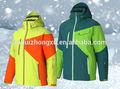 la nieve de invierno chaqueta de los hombres de montaña escalada de encargo a prueba de agua de esquí chaqueta abrigo capa transpirable puede ser por encargo chaqueta de esquí de