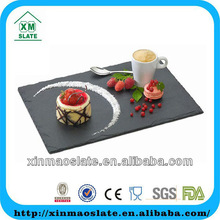for hotel on sale chinese slate serving plates CP-3525RD2A