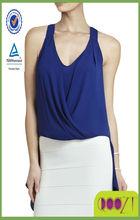 Solange Back-Drape Halter Top ladies casual clothes 2014 summer