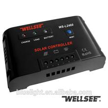 Sistema de energia solar controlador de carga 12v 24v 60a ws-l2460 com ce