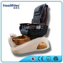 Hot Pedicure Massage Chair Remote Portable Salon Chair Headrest