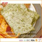 Prepared Pollock Fish Cracker With Laver Seafood Snack