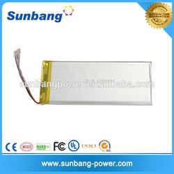 3.7v 4000mah battery li-ion polymer battery for talet, pc, cell phones