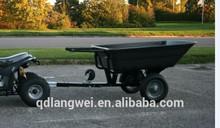 US $30000 Trade Assurance ATV 10 Cuft Utility Plastic Dump Trailer
