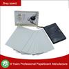 High smooth gray board grey chipboard
