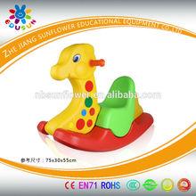 Three Colors Deer Shape Plastic Rocking Toy Plastic Seesaw, animal shape plastic Rocking Toy, Rocking Horse(XYH12074-13)