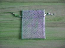 nautical gift bags organza bags/small mesh bags