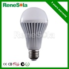 Warm & Neutral & Cool White Sanan chip non-dimmable A60 E26/E27/B22 7W LED Bulb Lighting