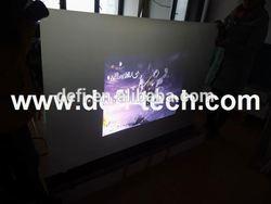 DEFI Rear projection foil window display,rear type projection film