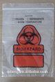 De plástico bolsas de laboratorio/bolsas de muestra/bolsa zip con tear off line