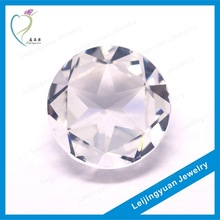 Amazing Cut Round Clear Synthetic Diamond Price