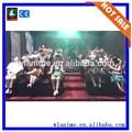 Горячая распродажа 5D симулятор кино оборудование, Театр 7D фильмы для продажи